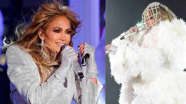 Kraljica glamura: Jennifer Lopez u kristalima od glave do pete