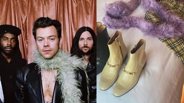 Harry Styles obožava šalove od perja, pa sada taj detalj žele svi