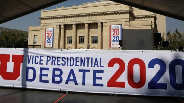 Set up ahead of vice presidential debate in Salt Lake City