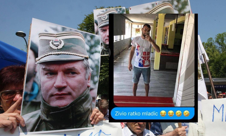 Veličao je ratnog zločinca Ratka Mladića, srpski klub ga otjerao!
