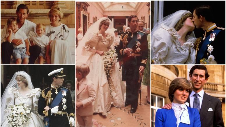 Lady Di i princ Charles prije 40 godina rekli su sudbonosno 'da' pred čak 750 milijuna gledatelja
