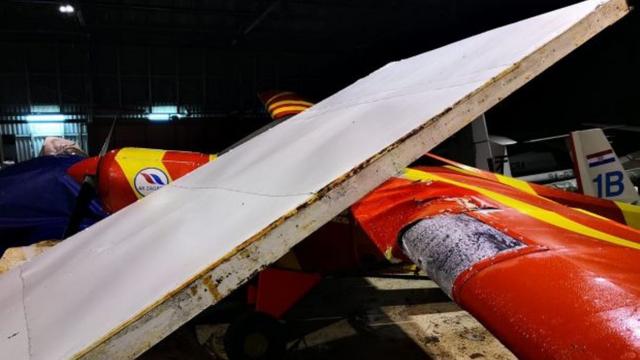 Nevrijeme uništilo jedini avion Aerokluba Zagreb, ovdje im možete pomoći u obnovi