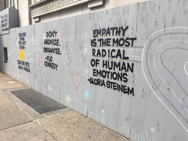 Murali u New Yorku: Onaj tko zahtijeva da šutiš ili ti uskraćuje pravo na rast, nije tvoj prijatelj