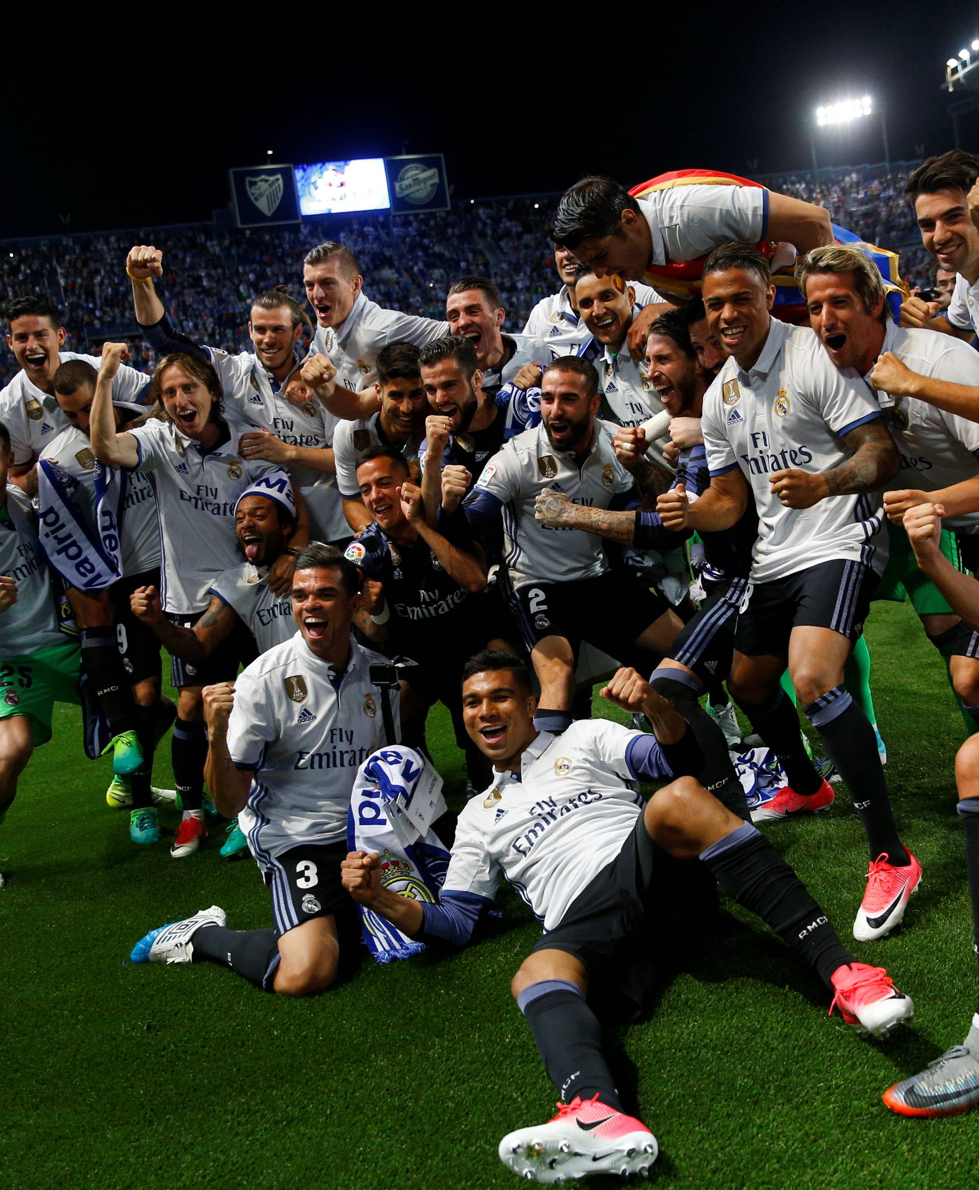 Malaga v Real Madrid - Spanish Liga Santander