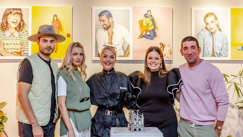 Izložba Mare Milin okupila je brojne poznate, a neki su joj i pozirali: Bilo me strah za torbicu