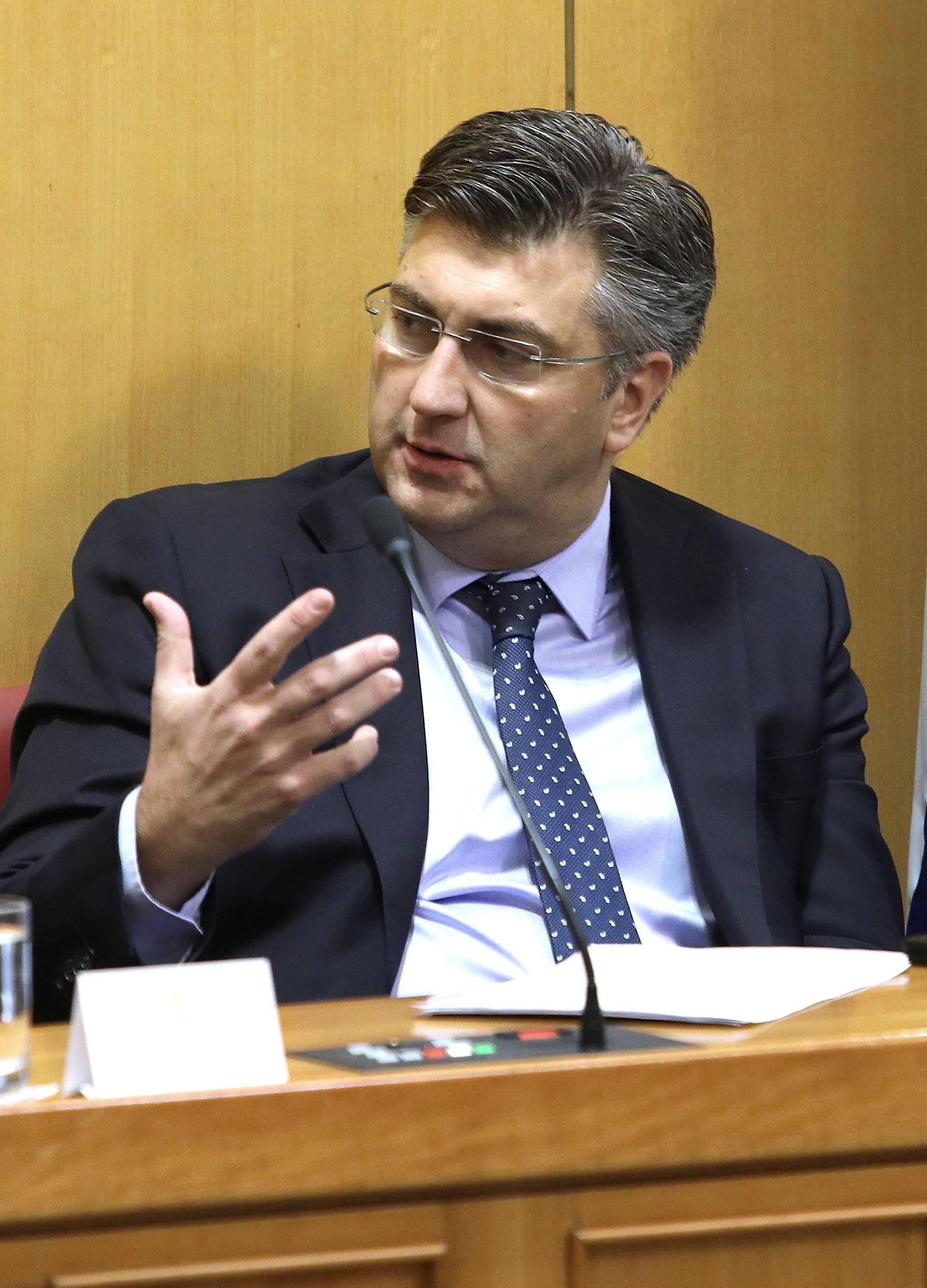 Plenković predstavio proračun i najavio porezna rasterećenja