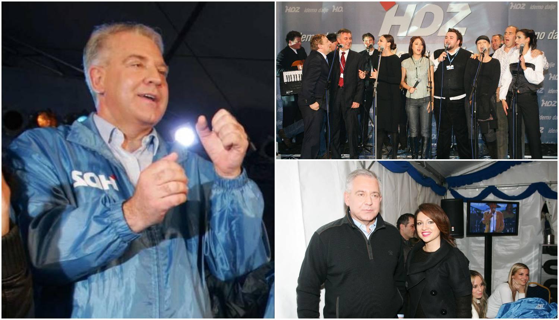 Glazbenici su pjevali kako je Ivo dirigirao, 'držao' je pola estrade
