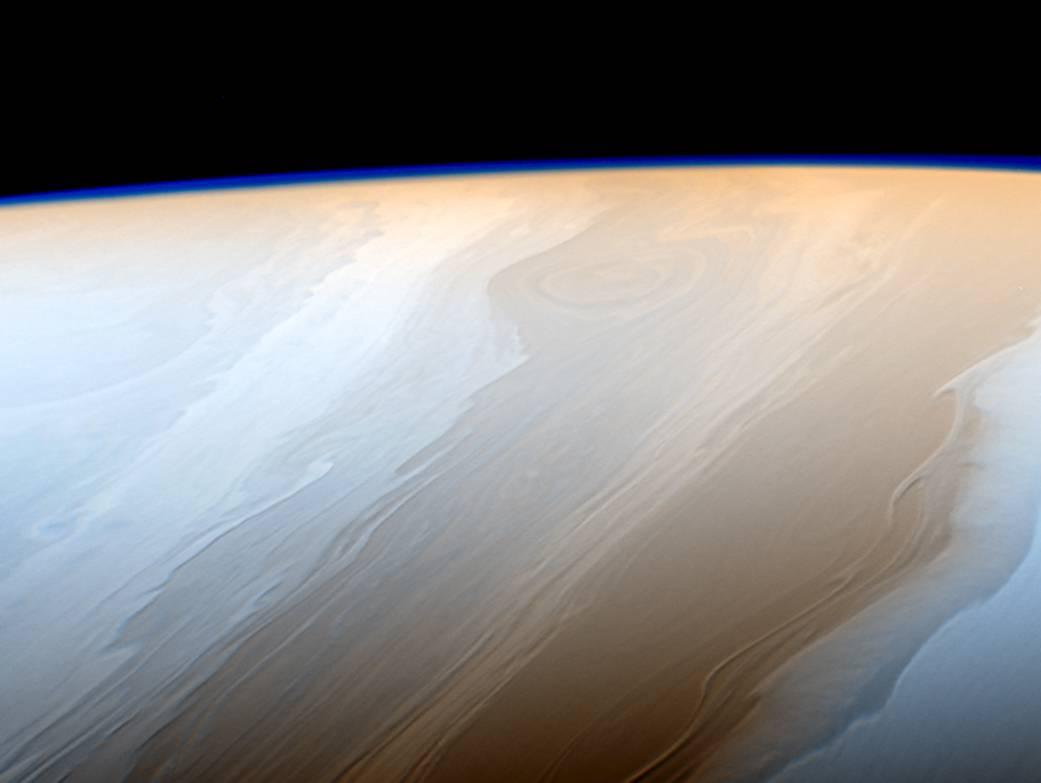 Lijep kao slika: Oblaci iznad Saturna kao kistom naneseni