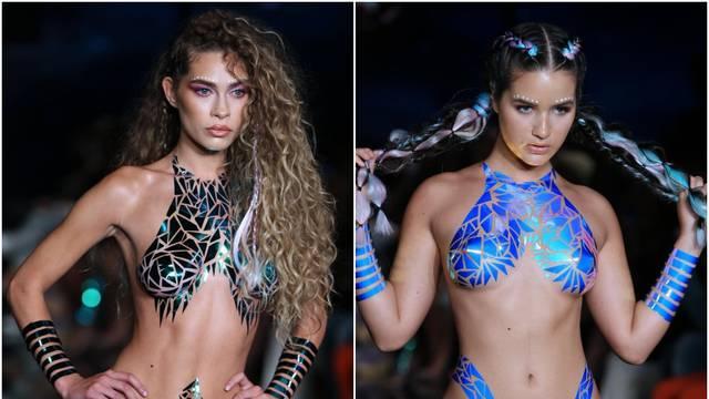 Jesu li otkrile previše? Modeli u ljepljivim bikinijima postali su veliki hit: 'Manje je nekad više!'