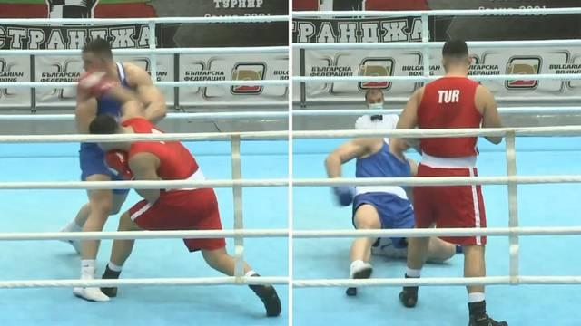 VIDEO Nokautiran u 15. sekundi: Težak poraz Miluna u Bugarskoj
