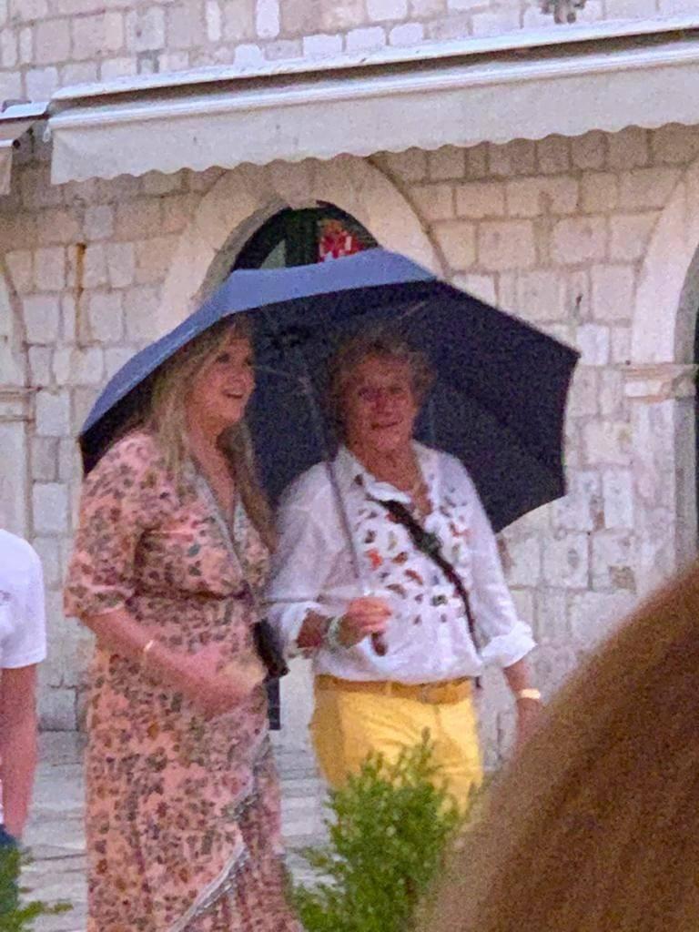 Legendarni Rod Stewart je sa suprugom šetao Dubrovnikom