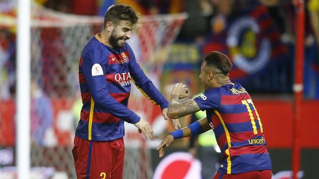 ESP, Copa del Rey, FC Barcelona vs Sevilla FC