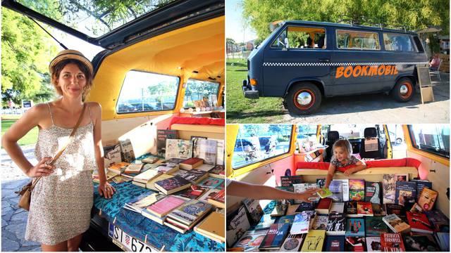 Mlada pjesnikinja: 'Putovat ću Hrvatskom u svom Bookmobilu'