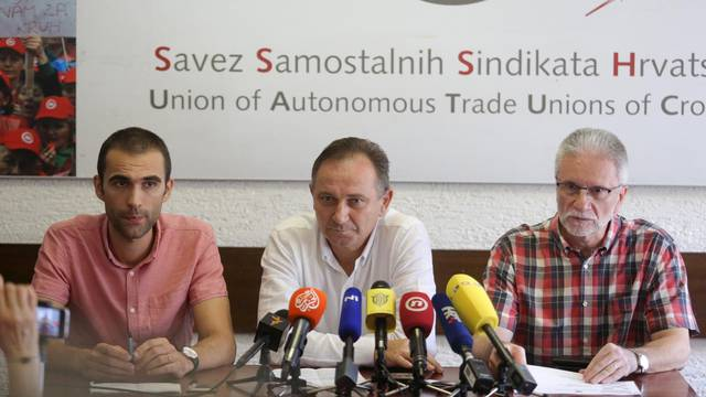 Zagreb:  Konferenciju na temu sindikalnih pogleda na èetvrti krug porezne reforme