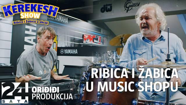 Ferdo i Jura iz 'Zauvijek susjedi' u music shopu: 'Bio sam roker, ali su mi onda pozvali policiju!'