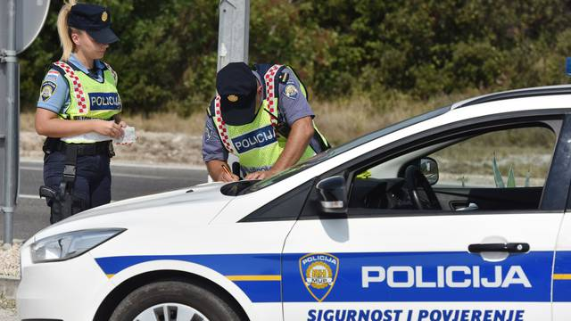 Šibenska policija priključila se projektu Dani sigurnosti u prometu