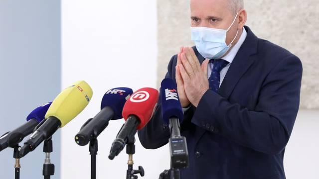 Zagreb: Branko Bačić na konferenciji za medije komentirao rezultate glasovanja i izjavio da je oporba u rasulu