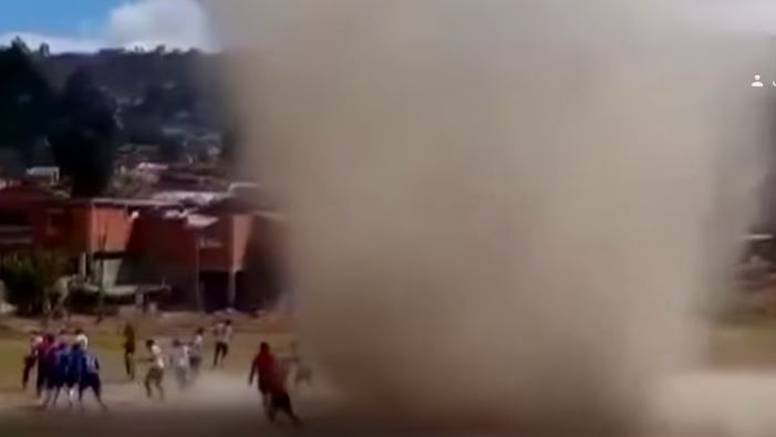 VIDEO Nevjerojatne snimke: Pijavica 'progutala' suca na terenu, igrači bježali u panici!
