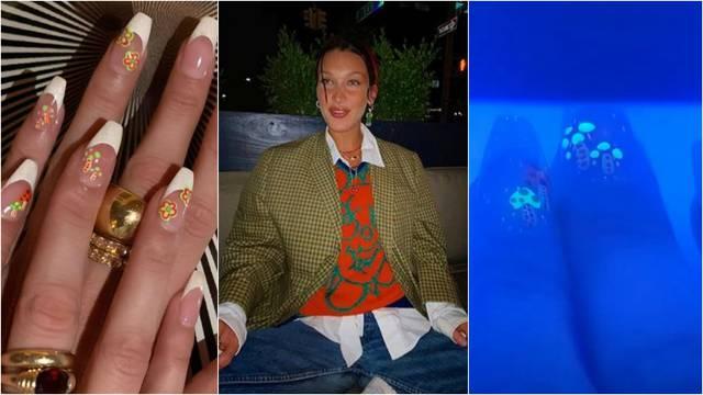 Bella Hadid ima omiljeni stil: Manikura koja svijetli u mraku