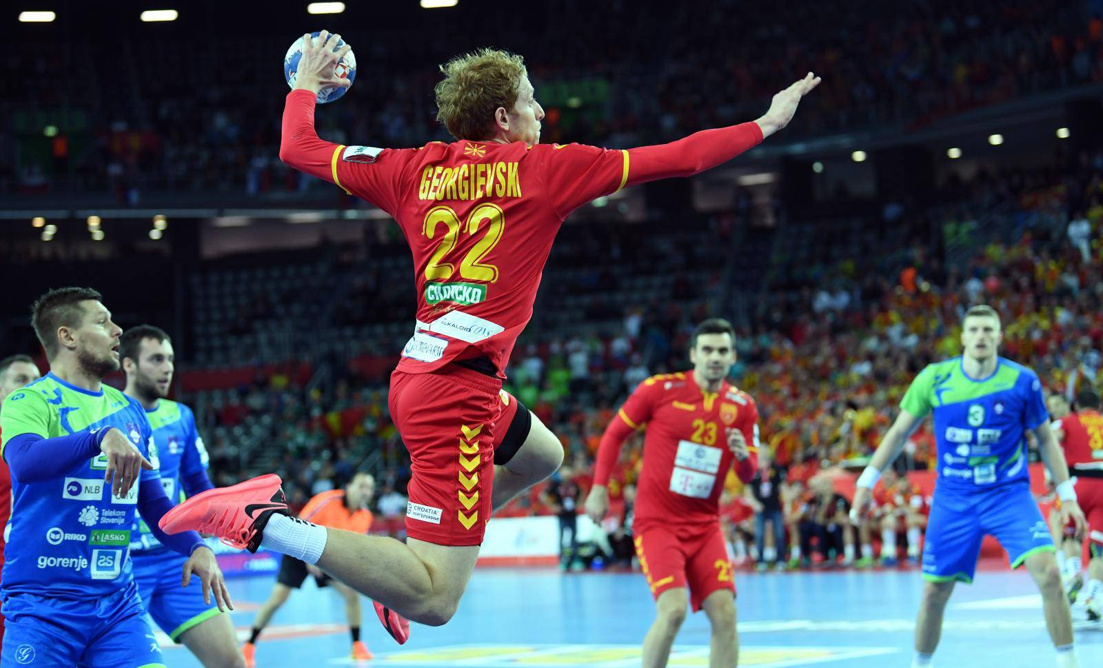 Handball: Macedonia vs Slovenia