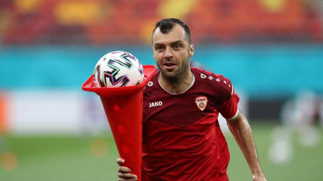 Euro 2020 - North Macedonia Training
