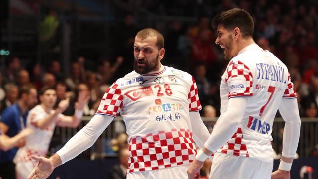 AUT, EHF Euro 2020, Kroatien vs Serbien