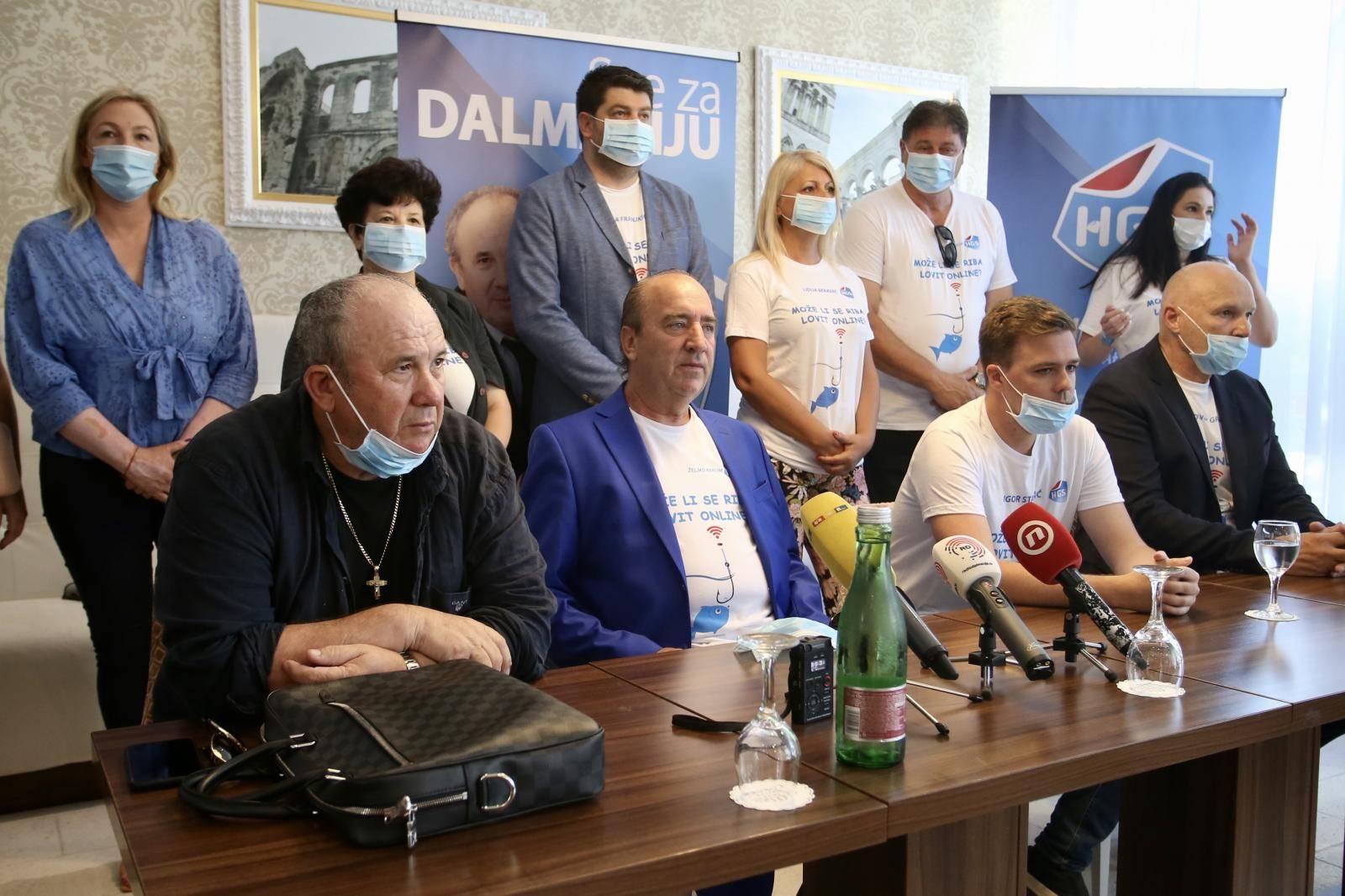 Split: Željko Kerum i Mladen Grdović održali zajedničku konferenciju za medije