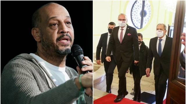 Bangoura o susretu Lavrova i Radmana: 'Našem ministru još samo nogice vire dok se ulizuje'