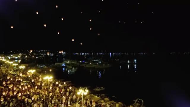 Kornatska tragedija: Lampioni sjećanja za stradale vatrogasce