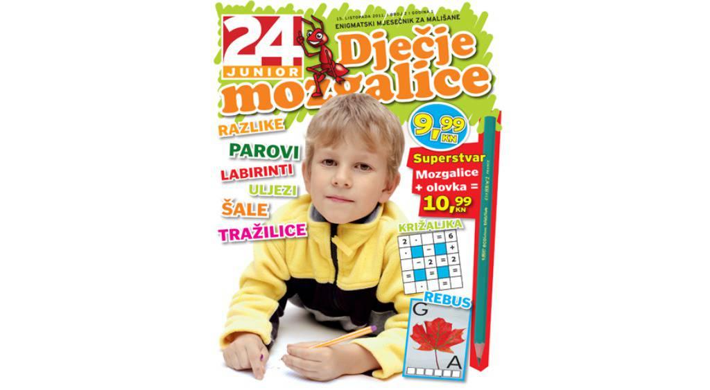 Novi broj Dječjih mozgalica u prodaji od 15. listopada!