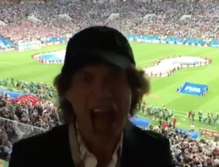 Hrvatska vama kliče, aj' sad zbogom Englezi i Jagger 'Miče'