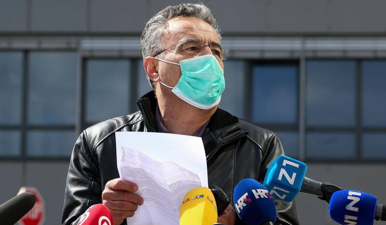 Zagreb:  Pavle Kalinić  održao konferenciju za medije