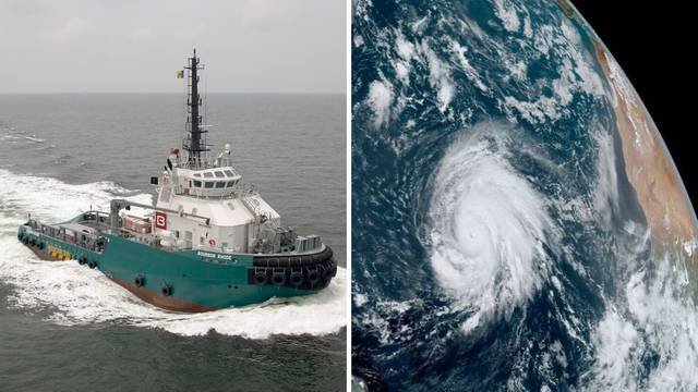 Sudbina broda: Bez motora nije mogao protiv uragana stoljeća