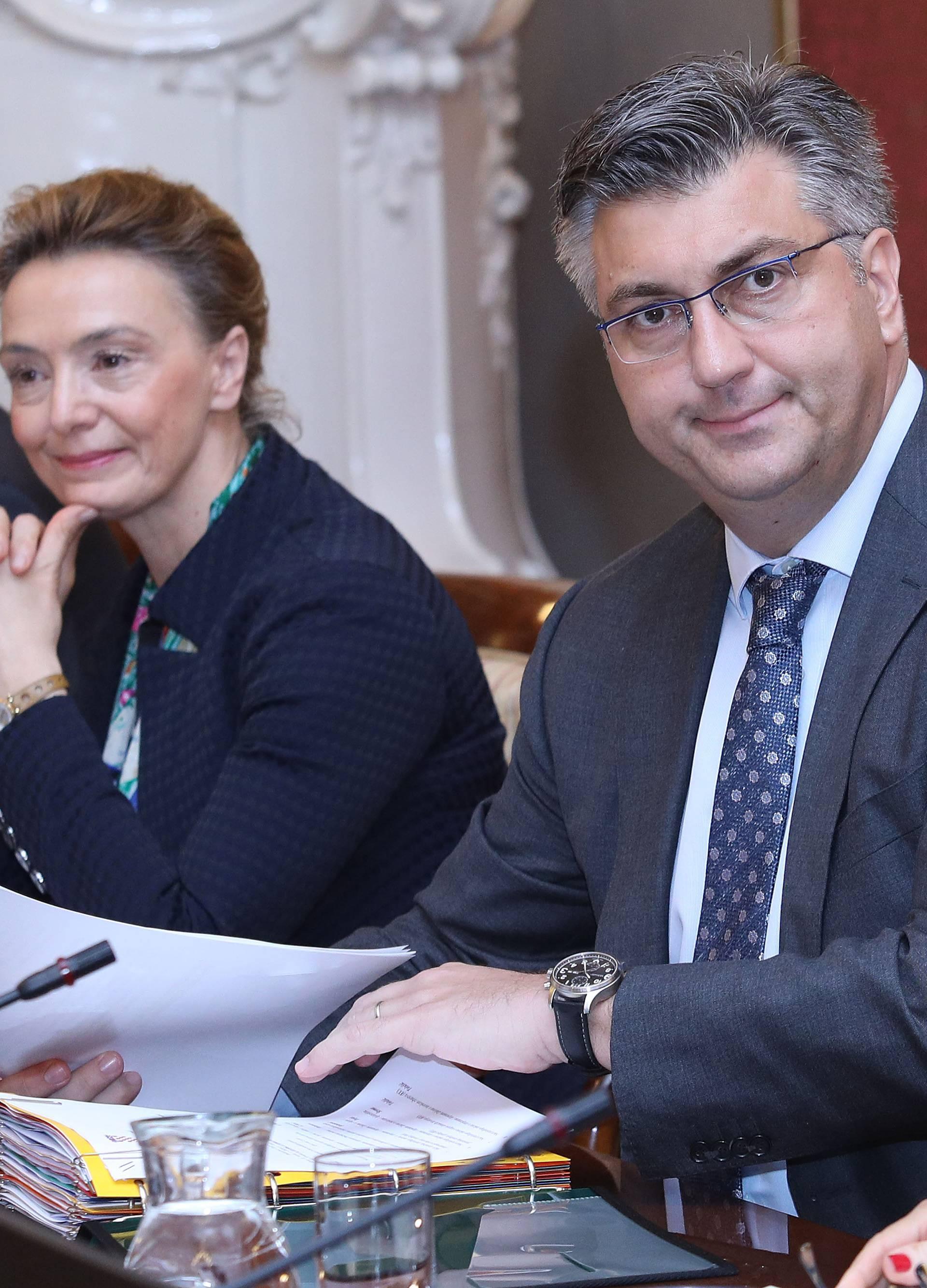 Zagreb: Vlada raspravlja o Sredisnjem registru drzavne imovine