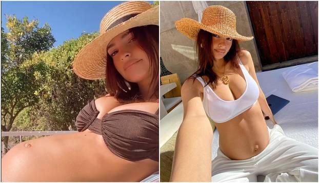 Trudna Emily Ratajkowski ne prestaje s golišavim fotkama...