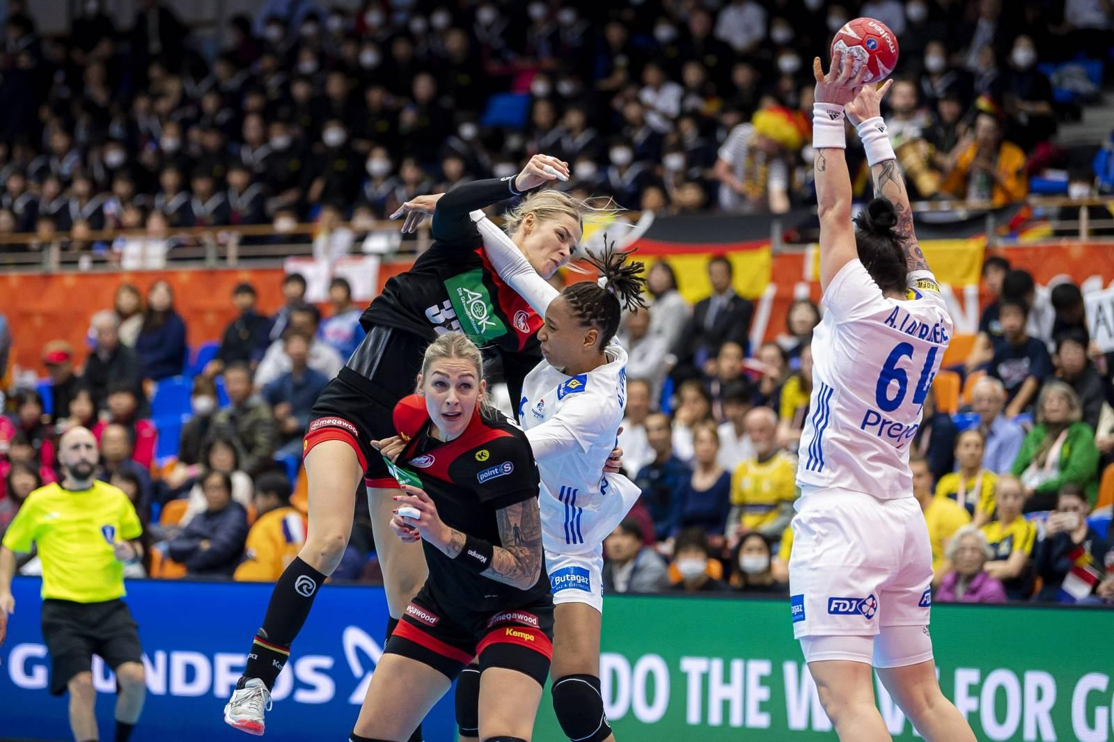 Handball Women WM Germany - France
