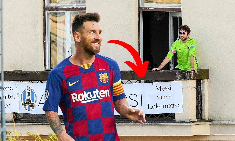 Messi dobio neodoljivu ponudu: Balkonski poziv u - Lokomotivu