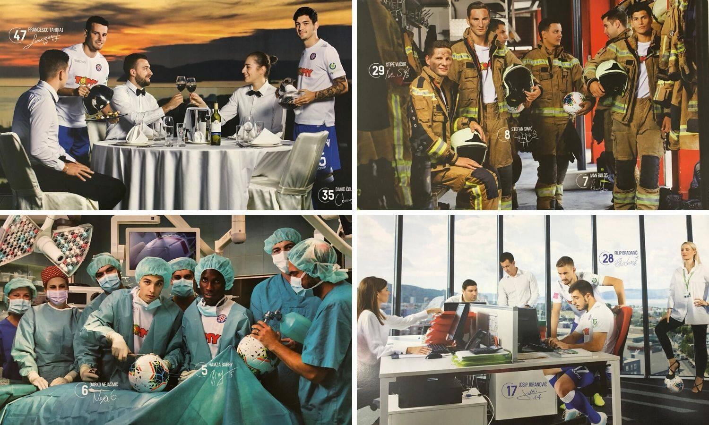 Hajduk predstavio kalendar: Igrači kao kirurzi na operaciji