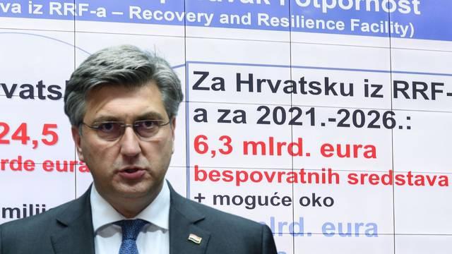 Pogledajte cijeli Plenkovićev plan za oporavak Hrvatske