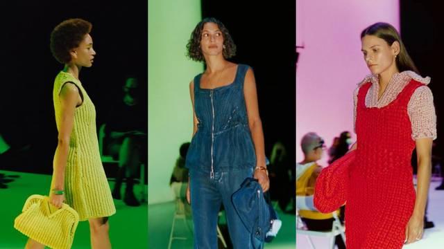 Bottega Veneta predlaže boje, pleteninu i chic fluidne haljine