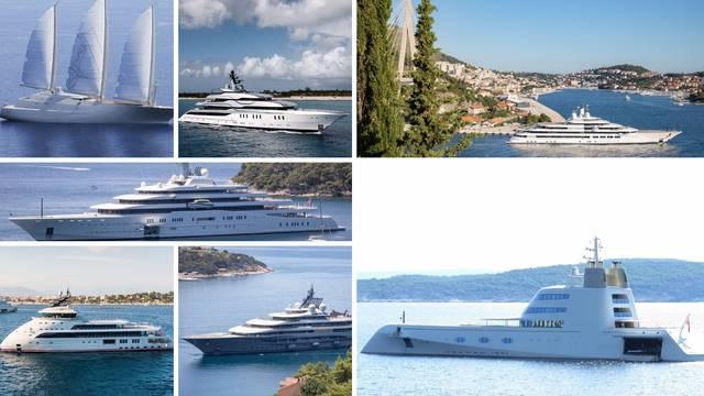Jadranske kraljice: Najskuplje i najbolje jahte koje su ikad plovile našim plavim morem...