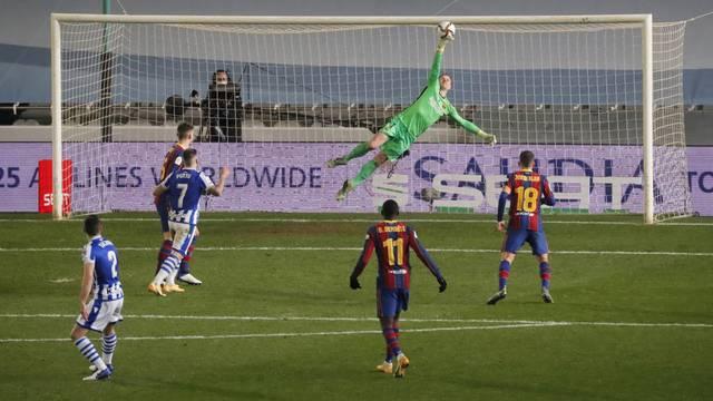 Spanish Super Cup - Semi Final - Real Sociedad v FC Barcelona