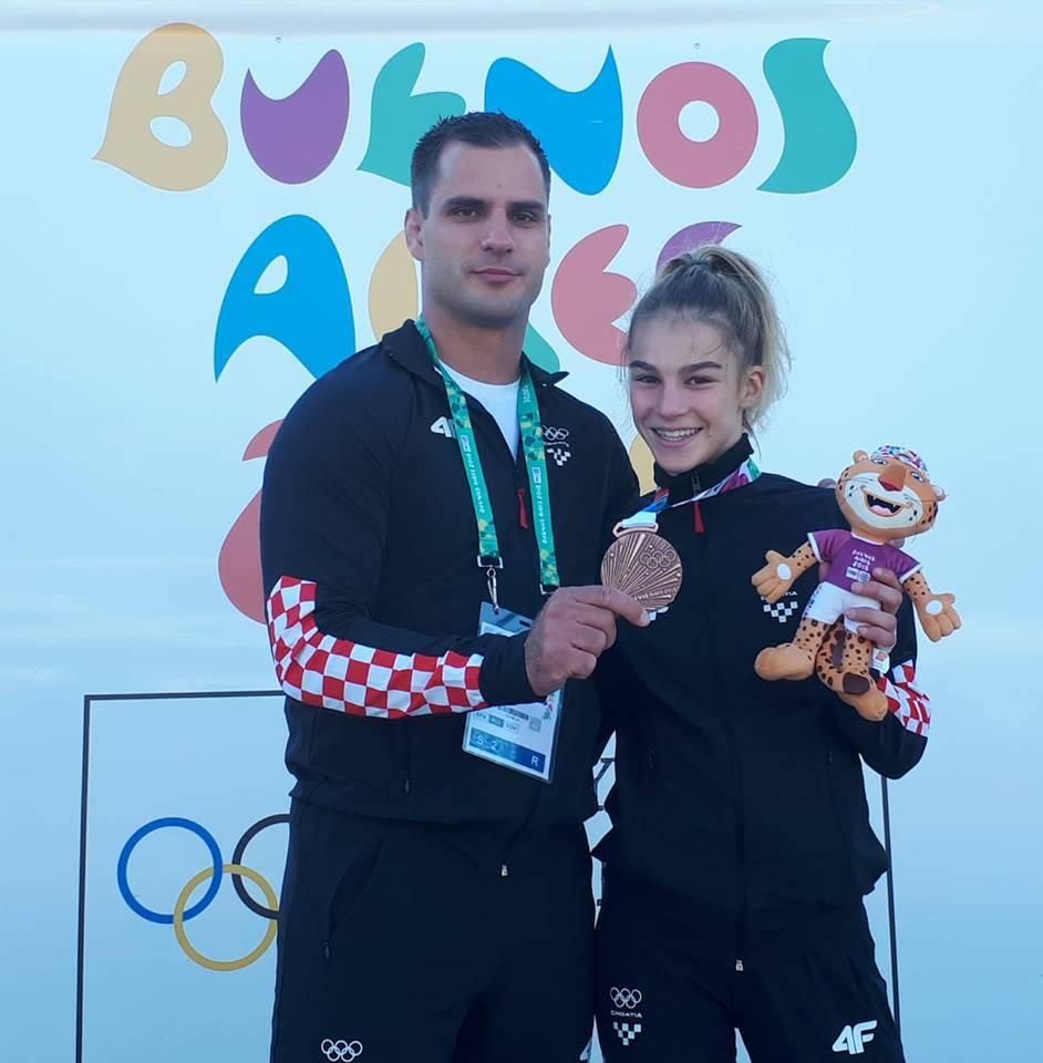Dvije bronce za Hrvatsku prvi dan Olimpijskih igara mladih