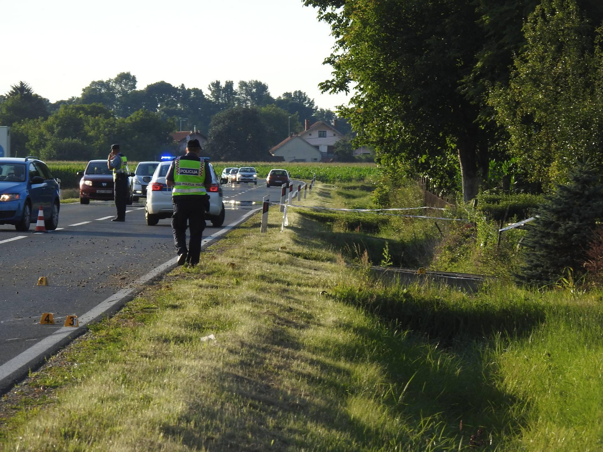 U Đurđevcu poginuo motociklist - sletio u odvodni jarak