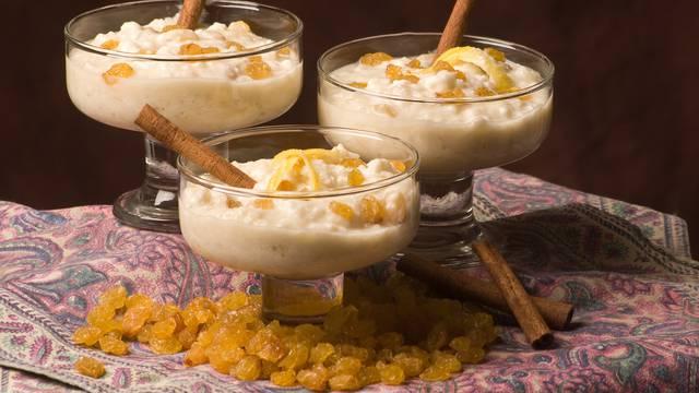Prefini kremasti puding od riže