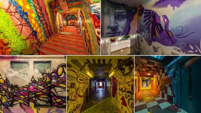 Grafiteri dobili 'slobodne ruke' da srede školu prije renovacije