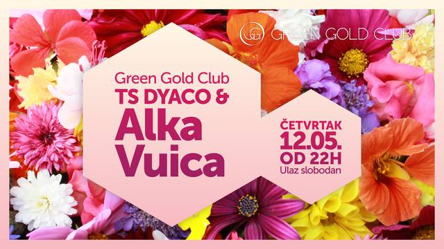 Alka Vuica na pozornici Green Gold Cluba uz pratnju tambura