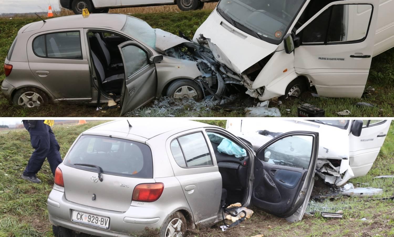Frontalni sudar kod Čakovca, troje ljudi prevezli u bolnicu