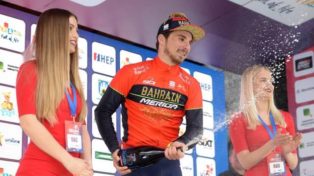 Kaotičan sprint u prvoj etapi: Bonifazio najbrži u Koprivnici