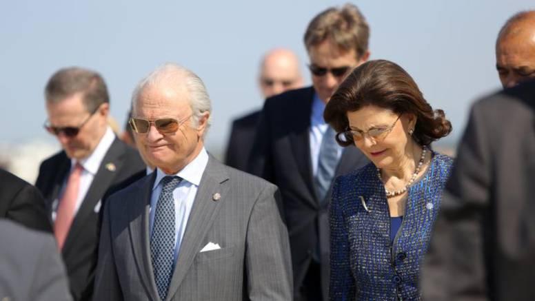 Švedski turisti svog kralja i kraljicu prvi put vidjeli u Zadru
